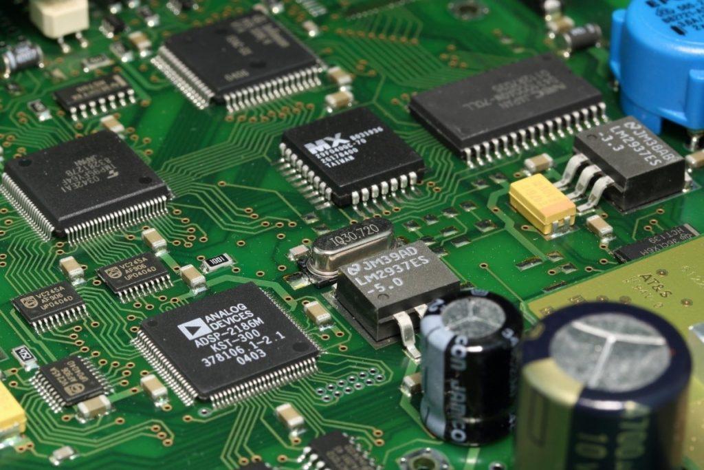 CNC Machined semiconductors